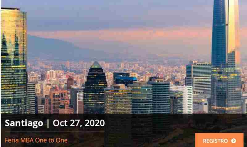 Discover a world of MBA opportunities online with Access MBA in santiago on 27 Oct
