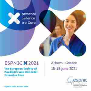 31st Annual Meeting of the European Society of Paediatric and Neonatal Intensive Care (ESPNIC) in Athina on 15 Jun
