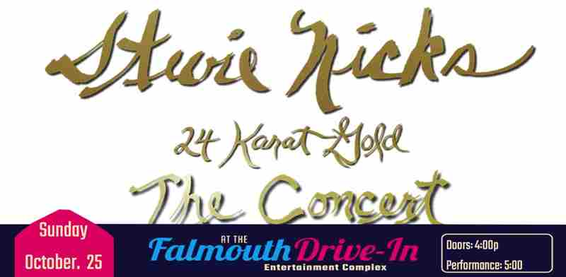 Stevie Nicks 24 Karat Gold - The Concert  Experience in Falmouth on 25 Oct