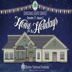 Home for the Holidays Christmas Lights Contest in Erie on 12 Dec