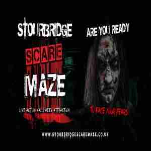 Stourbridge Scare Maze in Stourbridge on 22 Oct