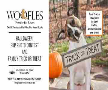 Woofles Halloween Pup Photo Contest and Family Trick or Treat in McKees Rocks on 24 Oct