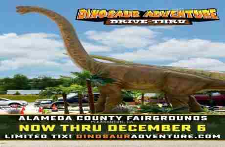 Dinosaur Adventure Drive-Thru Bay Area in Pleasanton on 12 Nov