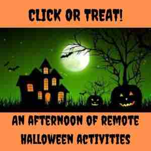 Click to Treat! An afternoon of virtual Halloween fun in Massachusetts on 31 Oct