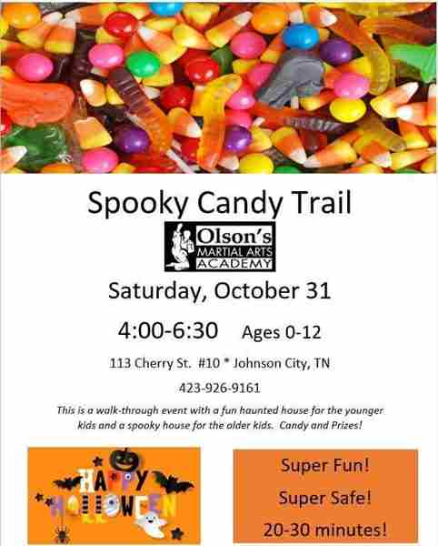 Kids Halloween Spooky Candy Trail in Johnson City on 31 Oct