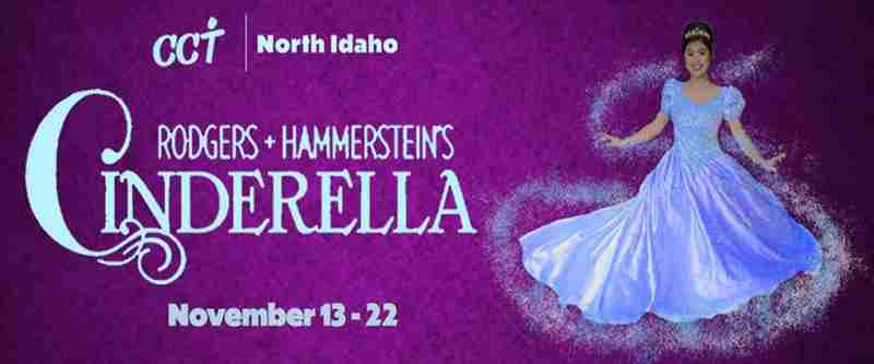 CCT presents Cinderella in Coeur d'Alene on 13 Nov