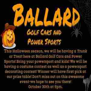 TRUNK OR TREAT in Hayden on 30 Oct