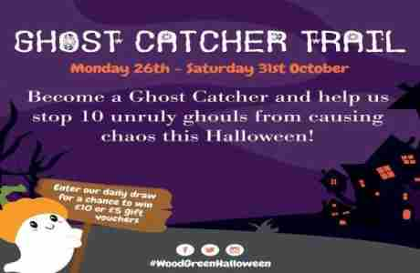 Join the Ghost Catcher Trail at The Mall Wood Green this Half-Term! in London on 26 Oct
