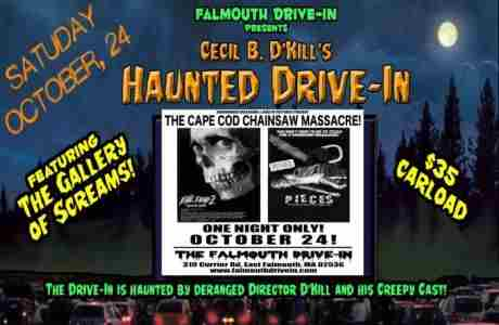 EVIL DEAD II + PIECES : DOUBLE FEATURE in East Falmouth on 24 Oct