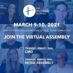 Transformational CMO and Retail Virtual Assembly - March 2021 in Dearing on 9 Mar