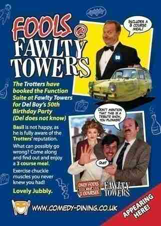 Fools @ Fawlty Towers 05/02/2021 Watford in Greater London on 5 Feb