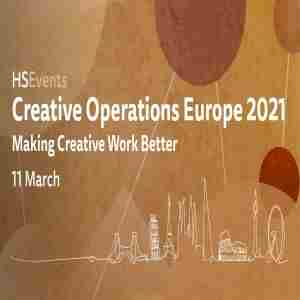 Creative Operations Europe 2021 in London on 11 Mar
