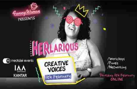 HERLARIOUS: CREATIVE VOICES: 12pm in London on 11 Feb