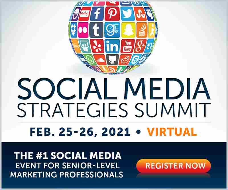 Social Media Strategies Summit | Virtual Conference in San Francisco on 25 Feb