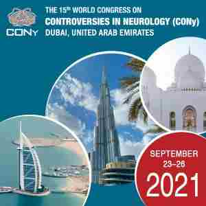 The 15th World Congress on Controversies in Neurology (CONy) 2021 in Dubai on 23 Sep