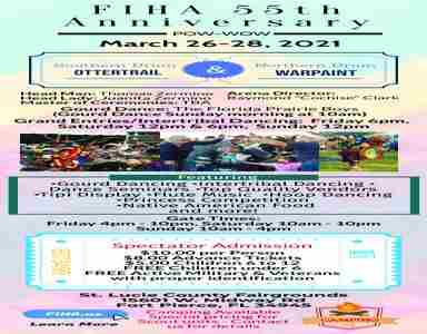 55th Annual FIHA Native American Powwow in Fort Pierce on 26 Mar