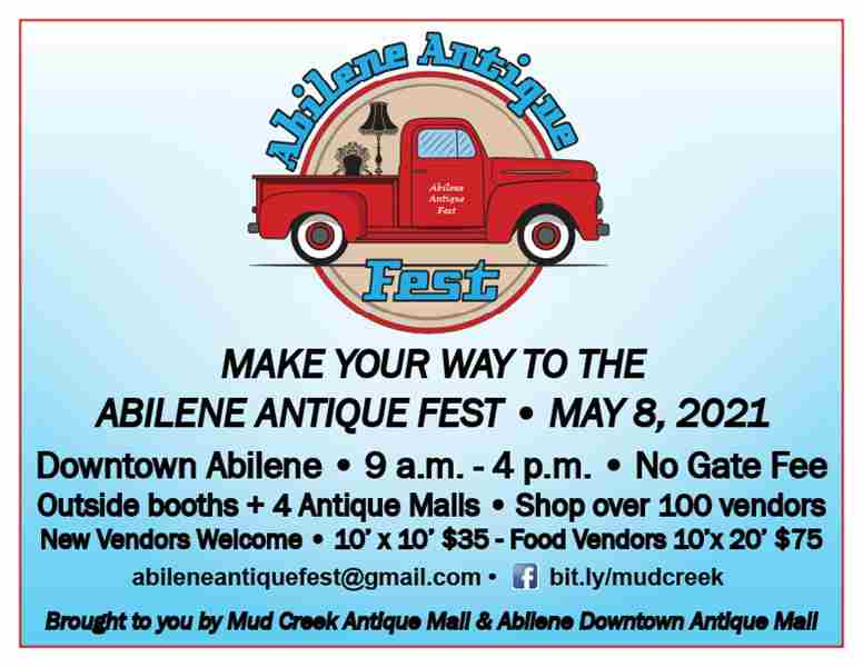2021 Abilene Antique Fest in Abilene on 8 May