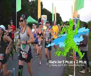Earth Day 5 Miler and 2 Miler in Clermont on 17 Apr