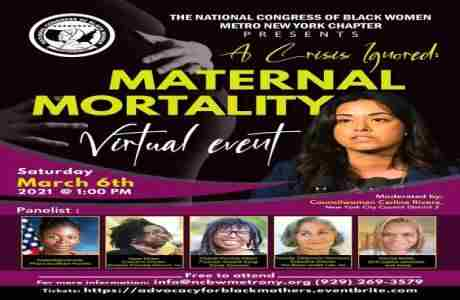 A Crisis Ignored: Maternal Mortality in New York on 6 Mar