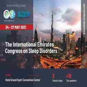 The International Emirates Congress on Sleep Disorders in Dubai on 24 May