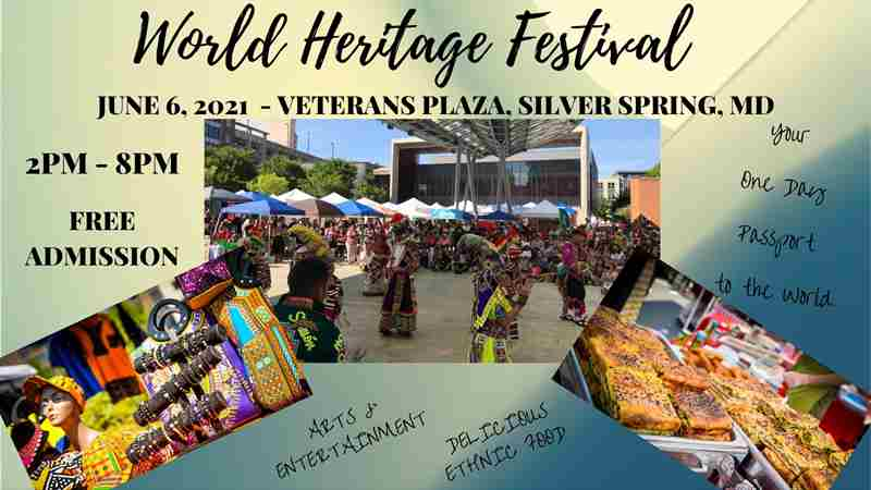 World Heritage Festival in Silver Spring on 6 Jun
