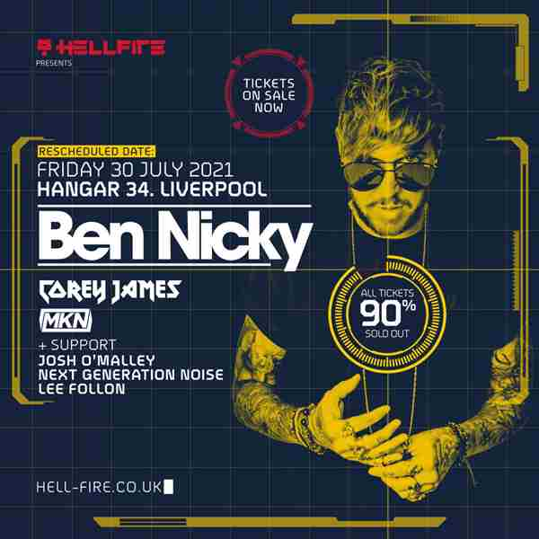 Hellfire presents Ben Nicky in Merseyside on 30 Jul