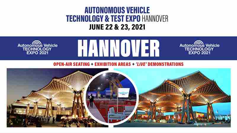 Autonomous Vehicle Technology World Expo 2021 - Hannover in Hannover on 22 Jun
