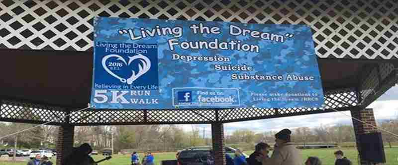 Living the Dream Foundation Walk for Hope 5K Saturday April 17 in Culpeper on 17 Apr