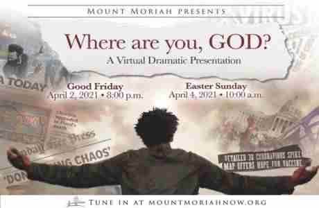 Where Are You God? in Tucker on 2 Apr