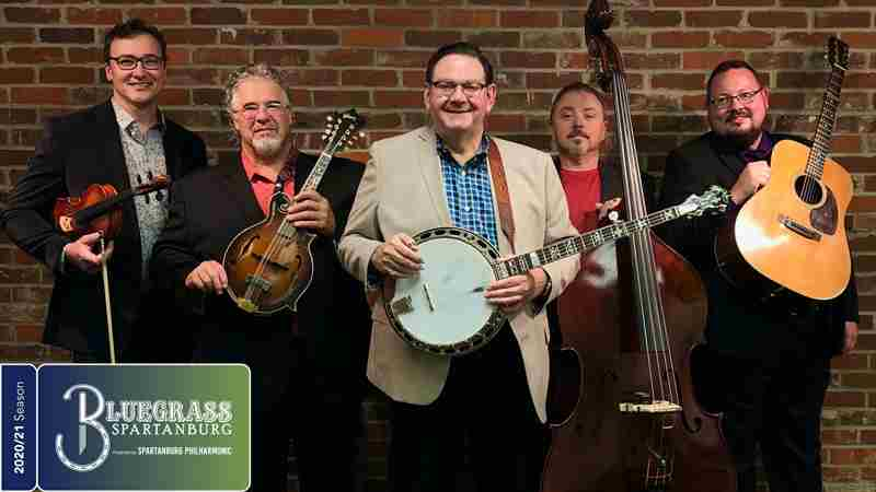 Joe Mullins and The Radio Ramblers in Spartanburg on 11 Jun