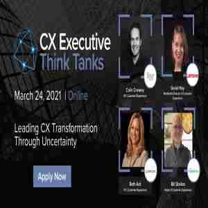 CX Executive Think Tanks in New York on 24 Mar