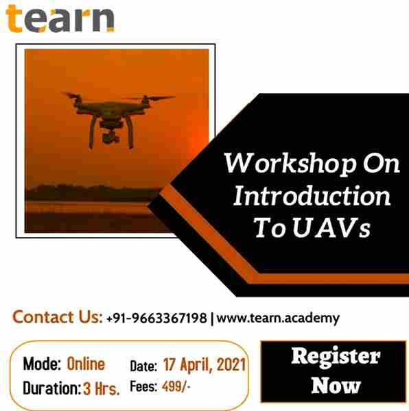 Workshop on Introduction to UAVs in Bengaluru on 17 Apr