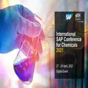 International SAP Conference for Chemicals - Digital Event in Lizard on 27 Apr