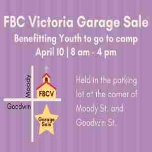 FBC Victoria Garage Sale in Victoria on 10 Apr
