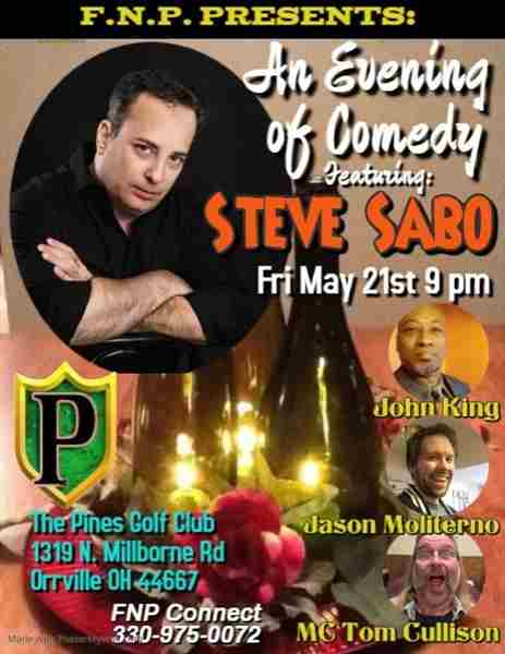 An Evening of Comedy with Steve Sabo in Orrville on 21 May