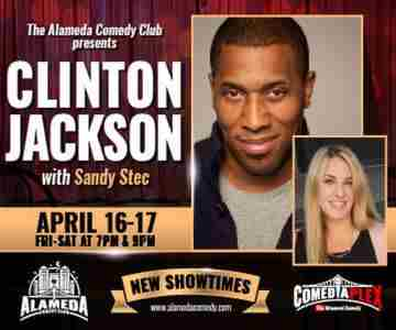 Clinton Jackson - Live at the Alameda Comedy Club - April 16-17 in Alameda on 16 Apr