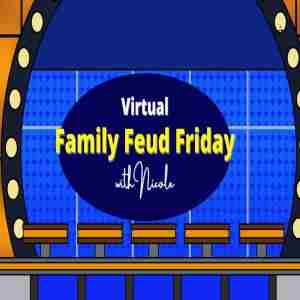 Family Feud Friday with Nicole in Los Angeles on 16 Apr