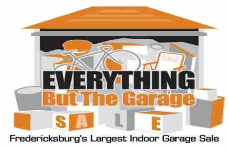 Fredericksburg's Largest Indoor Garage Sale - April 17-18 in Fredericksburg on 17 Apr