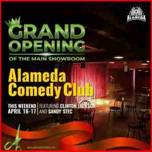 Grand Opening of the Main Showroom at the Alameda Comedy Club in Alameda on 16 Apr