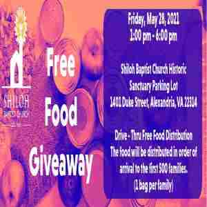 Free Food Giveaway in Alexandria on 28 May