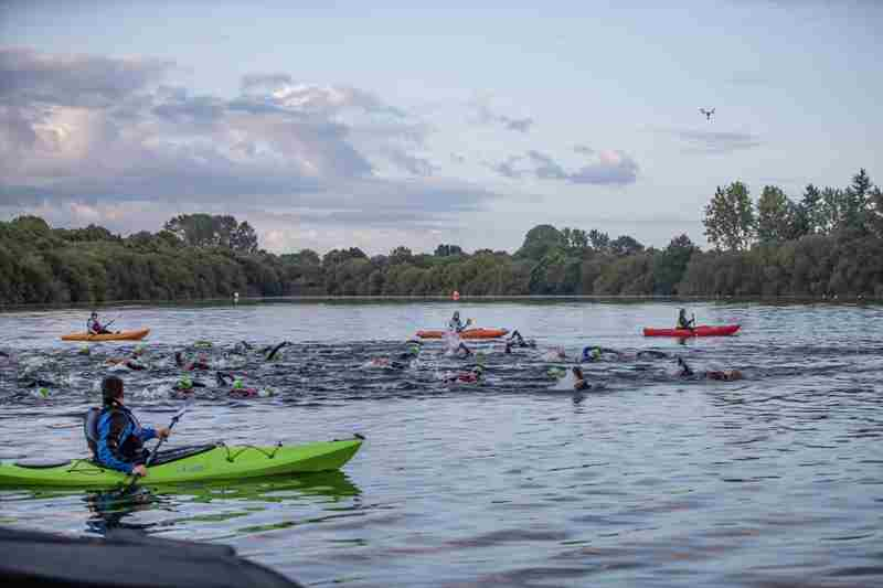 The Sundowner Swim in Blashford on 19 Jun