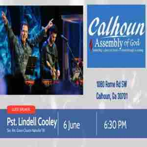 One Night with Lindell Cooley in Calhoun on 6 Jun